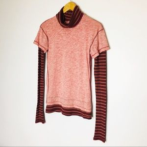WE THE FREE Free People Turtle Neck Sweater
